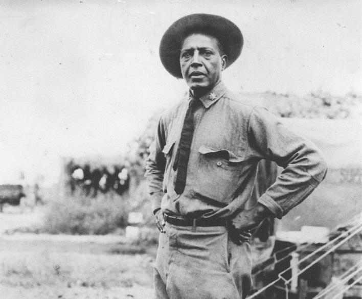 black environmentalist Captain Charles Young