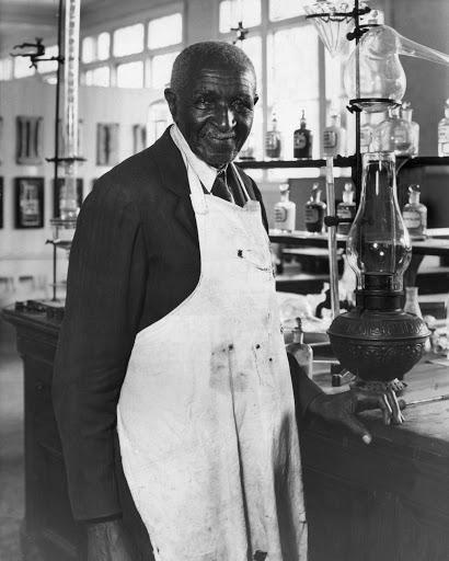 black environmentalist George Washington Carver